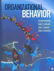 Organizational Behavior 1st Edition 9781452278605 1452278601