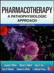Pharmacotherapy 9th Edition 9780071800532 0071800530