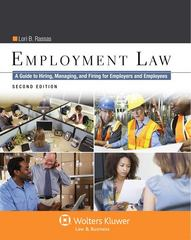 Employment Law 2nd Edition 9781454840800 1454840803