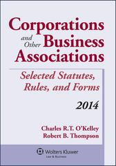 Corporations and Other Business Associations 1st Edition 9781454840572 1454840579
