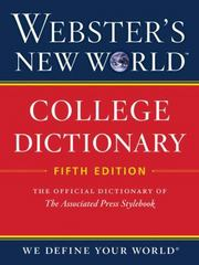 Webster's New World College Dictionary 5th Edition 9780544166066 054416606X