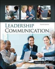 Leadership Communication 4th Edition 9780073403205 0073403202