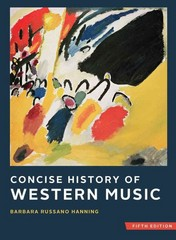 Concise History of Western Music 5th Edition 9780393124262 0393124266