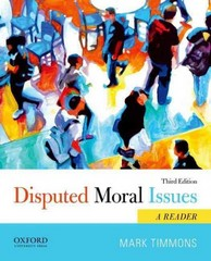 Disputed Moral Issues 3rd Edition 9780199946792 0199946795