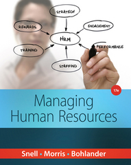 Managing Human Resources 17th Edition 9781285866390 1285866398