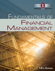 Fundamentals of Financial Management 14th Edition 9781285867977 1285867971