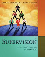 Supervision 13th Edition 9781285866376 1285866371