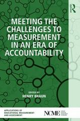 Meeting the Challenges to Measurement in an Era of Accountability 1st Edition 9780415838610 0415838614