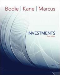 Investments 10th Edition 9780077861674 0077861671