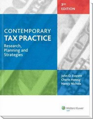 Contemporary Tax Practice 3rd Edition 9780808034834 0808034839