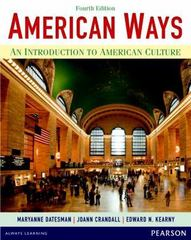 American Ways 4th Edition 9780133047028 0133047024