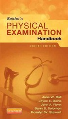 Seidel's Physical Examination Handbook (Seidel, Mosby's Physical Examination Handbook) 8th Edition 9780323169530 0323169538