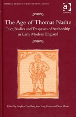 The Age of Thomas Nashe 1st Edition 9781317045342 1317045343