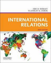 International Relations, Brief Edition 1st Edition 9780199765560 0199765561