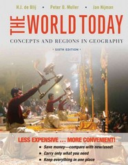 The World Today 6th Edition 9781118250556 1118250559