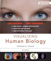 Visualizing Human Biology 4th Edition 9781118226766 1118226763