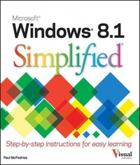 Windows 10 Simplified 1st Edition 9781119057062 111905706X