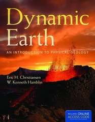 Dynamic Earth 1st Edition 9781449659028 1449659020