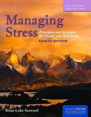 Managing Stress 8th Edition 9781284036640 1284036642
