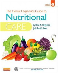 The Dental Hygienist's Guide to Nutritional Care 4th Edition 9781455737659 1455737658