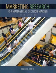 Marketing Research for Managerial Decision Making 5th Edition 9781465219077 1465219072