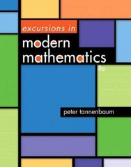 Excursions in Modern Mathematics Plus NEW MyMathLab with Pearson eText -- Access Card Package 8th Edition 9780321923257 0321923251