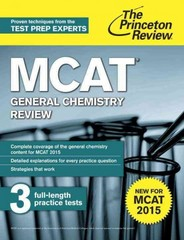 MCAT General Chemistry Review 2nd Edition 9780804125062 0804125066