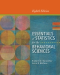 Bundle: Essentials of Statistics for the Behavioral Sciences, 8th + CourseMate Printed Access Card