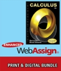 Bundle: Calculus, 10th + Enhanced WebAssign Homework and eBook LOE Printed Access Card for Multi Term Math and Science