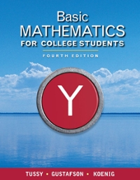 Bundle: Basic Mathematics for College Students, 4th + Student Solutions Manual 4th edition 9781111496050 1111496056