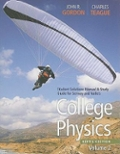 Bundle: College Physics + Student Solutions Manual with Study Guide, Volume 1 + Student Solutions Manual with Study Guide, Volume 2