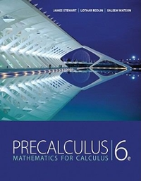 Bundle: Precalculus: Mathematics for Calculus + Student Solutions Manual 6th edition 9781111701260 1111701261
