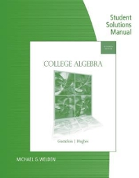 Bundle: College Algebra, + Student Solutions Manual 11th edition 9781133615439 1133615430