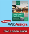 Bundle: Mathematical Applications for the Management, Life, and Social Sciences + Enhanced WebAssign with eBook LOE Printed Access Card for One-Term Math and Science
