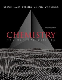 CHEMISTRY CENTRAL SCI & SOLUTN EXERCIS CHEM 12th edition 9780321784179 0321784170
