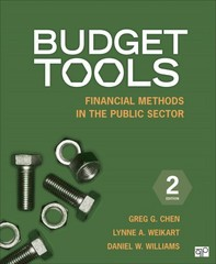 Budget Tools; Financial Methods in the Public Sector 2nd Edition 9781483307701 1483307700