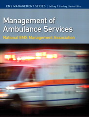 Management of Ambulance Services 1st Edition 9780135028292 0135028299