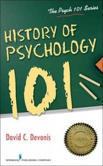 History of Psychology 101 1st Edition 9780826195692 0826195695