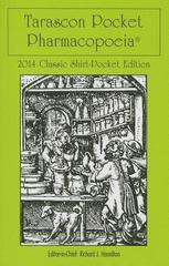 Tarascon Pocket Pharmacopoeia 2014 Classic Shirt Pocket Edition 28th Edition 9781284026702 1284026701