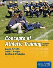 Concepts of Athletic Training 7th Edition 9781284034127 1284034127