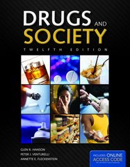 Drugs and Society 12th Edition 9781449689872 1449689876