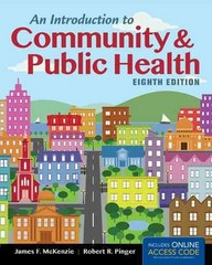 An Introduction to Community & Public Health 8th Edition 9781449689896 1449689892