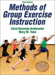 Methods of Group Exercise Instruction with Online Video 3rd Edition 9781450421898 145042189X