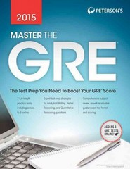 Master the GRE 2015 22th Edition 9780768938654 0768938651