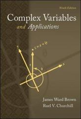 Complex Variables and Applications 9th Edition 9780073383170 0073383171