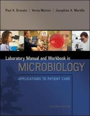 Lab Manual and Workbook in Microbiology 11th Edition 9780073402390 0073402397