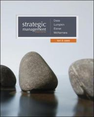 Strategic Management 7th Edition 9780077862527 007786252X