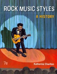 Rock Music Styles 7th Edition 9780078025181 0078025184