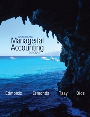 Fundamental Managerial Accounting Concepts 7th Edition 9780077632434 0077632435