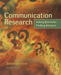 Communication Research 4th Edition 9780078036910 0078036917